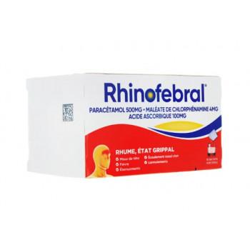 Rhinofebral - Rhume Etat grippal x10s