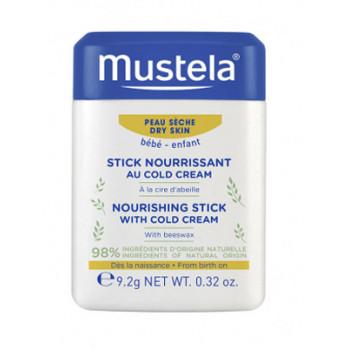 Stick nourrissant cold cream à la cire d'abeille bio  Mustela