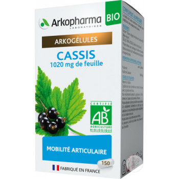 Arkogélules Cassis BIO x150