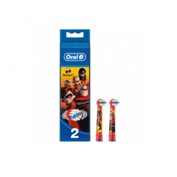 Brossettes Oral-B Kids Incredibles - Lot de 2