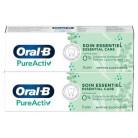 Oral-B PureActiv Soin essentiel dentifrice 2x75ml