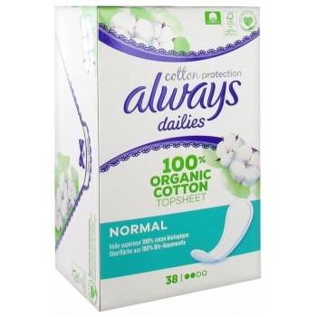 Always Dailies protège-slip - Cotton Protection - x38