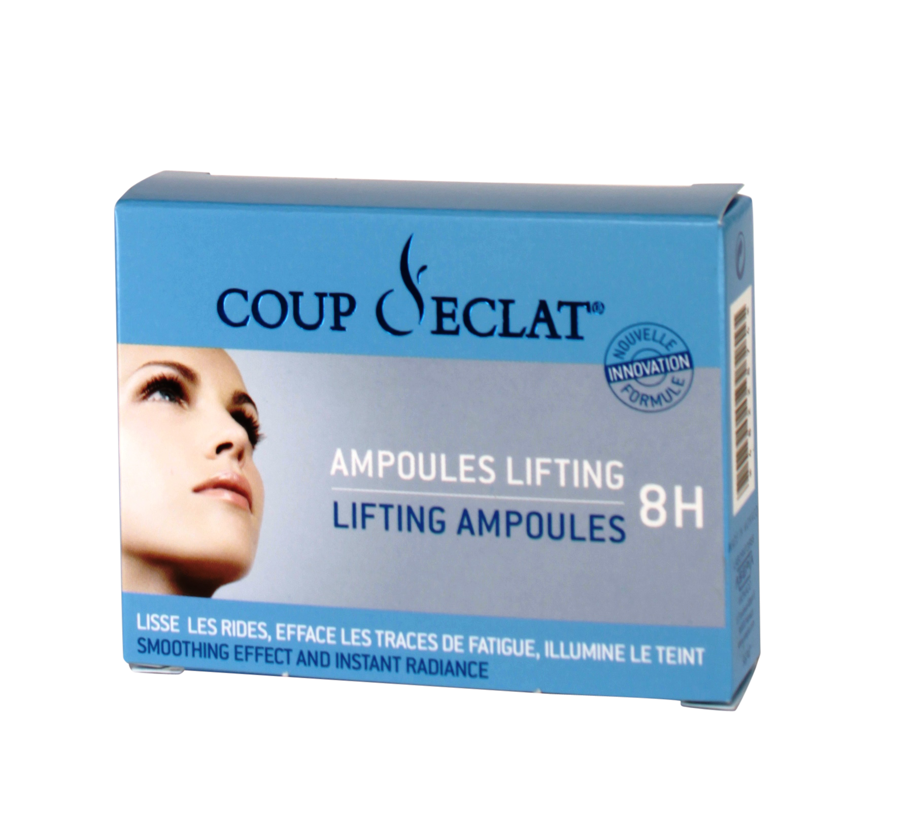 Coup d 39 clat ampoule lifting maquillage pharmacie illicopharma - Coup eclat lifting ampoules ...
