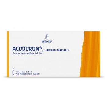 Acodoron Aconitum napellus 30DH 7x1 amp. inj. Weleda