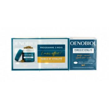 Oenobiol Capillaire Force et Vitalité 3x60 comprimés