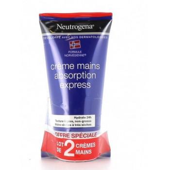 Crème Mains DUO Hydratation & confort 2X75ml Neutrogena