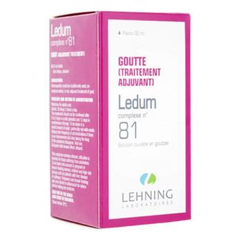 Ledum n°81 30ml Lehning