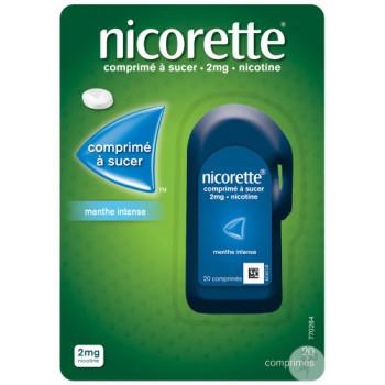 Nicorette 2mg Menthe x20 Comprimés à sucer
