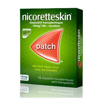 NicoretteSkin 10mg x28 patchs