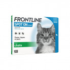 Frontline Spot-on chat x4