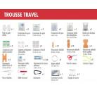 Trousse de secours Travel x210g