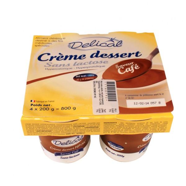 cr 232 me dessert sans lactose delical 4pots 200g nutrition prot 233 in 233 e illicopharma