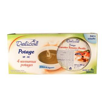 Delical Potage HP HC 4Bols/300ml