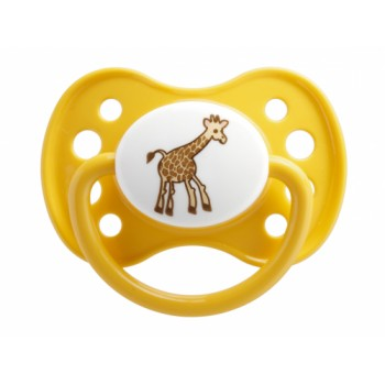 Sucette Dodie 0-6mois Animaux silicone n°27