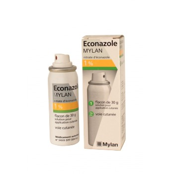 Econazole Mylan 1 % solution