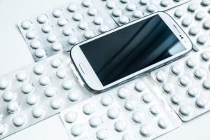 Pillenund Smartphone