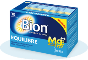 Bion Equilibre est un complément alimentaire à base Magnésium.
