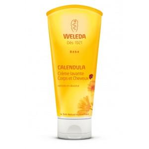 La crème lavante corps et cheveux Weleda pour le bien-être