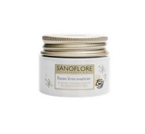 Le baume lèvre Sanoflore, pour les lèvres sensibles