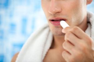 soin lèvres homme