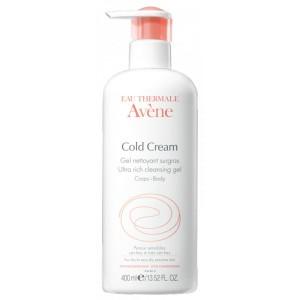 Le gel nettoyant Cold Cream Avène pour une peau douce et saine