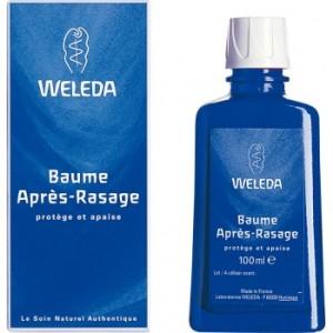 Le baume après-rasage Weleda protège votre peau