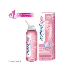 ProRhinel spray nasal nourisson, pour l'hygiène du nez des petits
