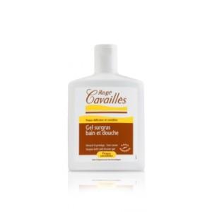 le gel surgras bain-douche Rogé Cavaillès protège les peaux sensibles
