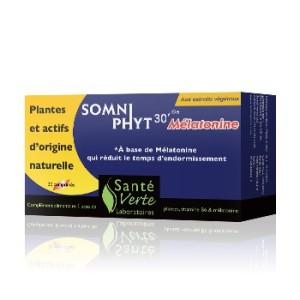 Le SomniPhyt 30' melatonine pour lutter contre l'insomnie