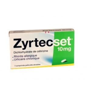 ZyrtecSet, contre les allergies