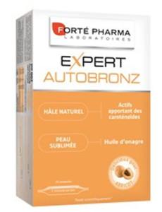 Avec Expert Auto-bronz de Forté pharma, c'est possible d'avoir un joli teint naturel même en hiver