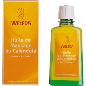 Huile de massage au Calendula Weleda