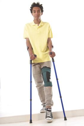attelle jambes