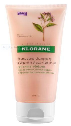 Les vertus du baume quinine vitamine b6 de klorane