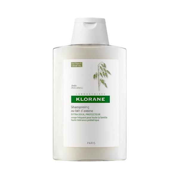 Le shampoing lait d'avoine de Klorane adoucit vos cheveux fragilisés