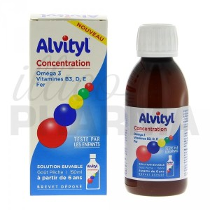 Aidez vos enfants à se concentrer avec Alvityl Concentration