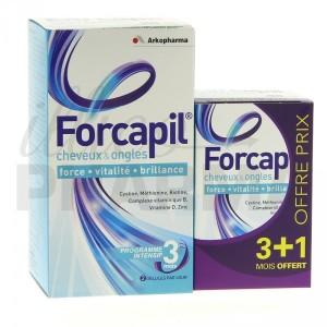 Luttez contre l'alopécie avec Forcapil d'Arkopharma