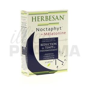 Retrouvez le sommeil avec Noctaphyt Mélatonine Herbesan 30 gélules