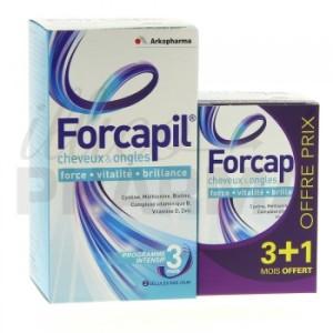 Choisissez Forcapil pour assurez la santé de vos cheveux