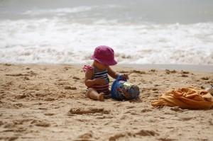 Protection solaire - protéger la peau des enfants