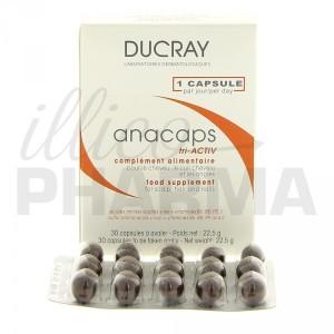 Anacaps Tri-activ de Ducray contre la chute des cheveux