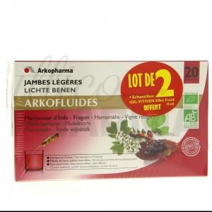 Arkofluides Jambes Légères Bio de la marque Arkopharma