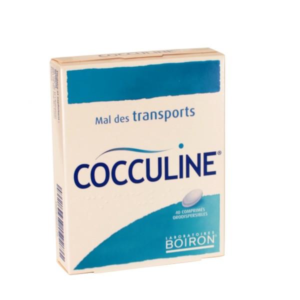 Cocculine 40 comprimés, un traitement efficace contre le mal des transports