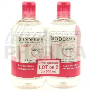 Créaline H2O est la seule eau micellaire dermatologique à présenter une parfaite analogie biologique avec la peau