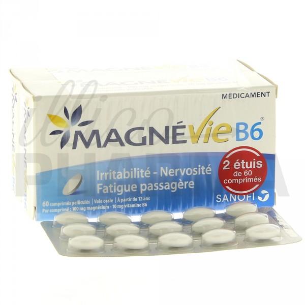 Choisissez Magnevie b6 120 comprimes pour le bon fonctionnement de votre organisme