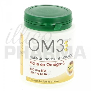 OM3 huile de poissons riche en omega 3