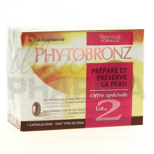Choisissez Phytobronz Arkopharma pour préparer et préserver la peau des effets nocifs du soleil