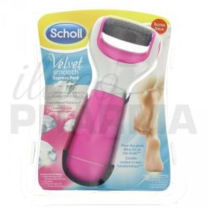 Rape electrique Scholl élimine efficacement les callosités des pieds