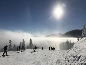 ski soleil hiver