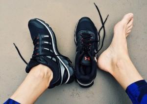 halte à la transpiration excessive des pieds